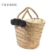 Hot Guangzhou Handbag Manufacturer bag beach straw bag