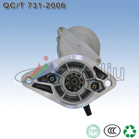 we provide rebuilt starter for TOYOTA with 9T CW 12V 1.4KW OEM NO:28100-16210
