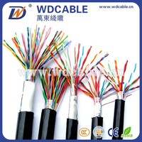 Underground 10 Pair Jelly Filled Outdoor Telephone Cable