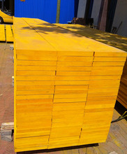 Yellow Paint LVL Beams for Construction