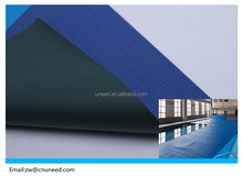 anti-UV Swimming pool pvc coated cover fabric