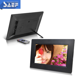 TFT type 7inch 800x480 digital photo frame lcd advertising machine