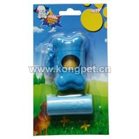 High quality opaque biodegradable virgin or recycle pet dog waste bag LH044