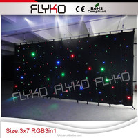 led twinkling stars led curtain lights
