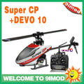 Walkera New heli!Walkera Super CP 6CH flybarless rc helicopter W/T DEVO 10 Transmitter