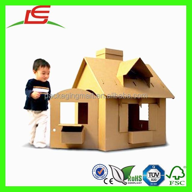 Cart n n479 lovely new dise o personalizado hecho a mano - Casas para ninos de carton ...