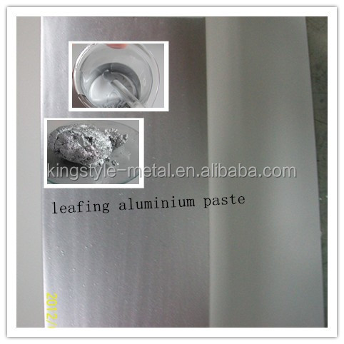 high glossy Aluminium Paste For industry paint