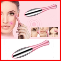 2016 new design Electric Eye Massager Facial Vibration Thin Face Magic Stick Anti Bag Pouch &wrinkle Pen Beaty Care