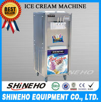 High Quality Commercial Soft Serve Ice Cream Machine With Large Capacity