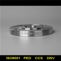 ASME B16.5 raised face flange