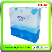 new custom plastic packaging , baby blanket box made in china