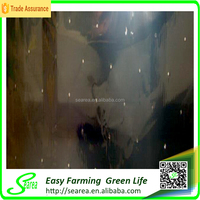 black/silver/white plastic agricultural mulching film