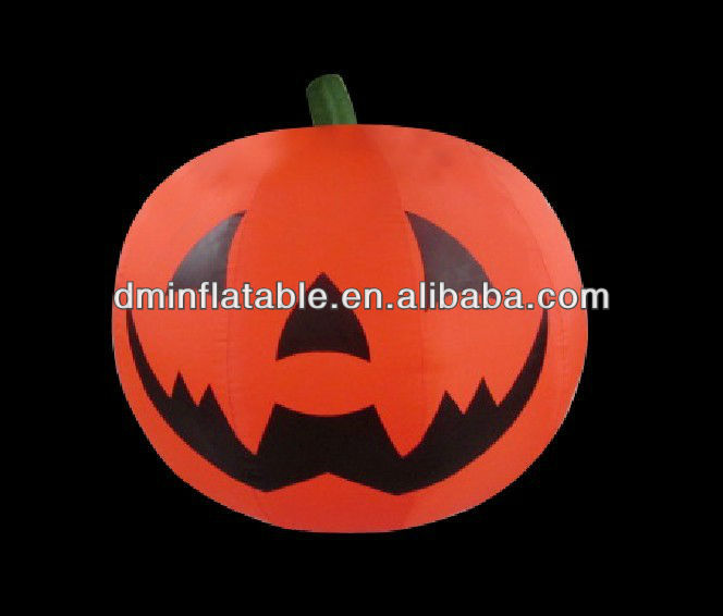 2013 Hot sale decorative Halloween inflatable pumpkin