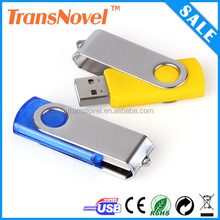 High quality swivel usb flash drive chip 2GB 4GB 8GB 16GB customized logo for gift or use