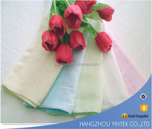 Hangzhou Factory Manufacturer Polyester Bamboo Fabric