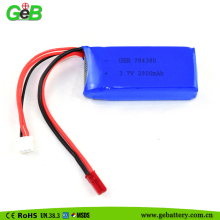 7.4V Lipo Lithium Polymer Rechargeable Battery Pack for Bluetooth Devices/ Electric Toys/ Medical Equipment