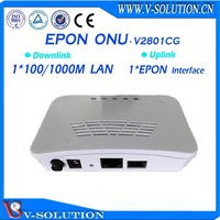 Cortina chipset 1ge FTTH/FTTx Solution EPON ONU compatible with ZTE/Huawei/Fiberhome OLT