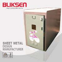 Professional aluminum heat sink enclosure/box for electronic