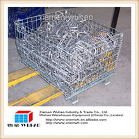 industry metal folding metal mesh cage for forging parts products