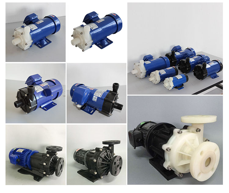 Factory produced alkali circulating magnet pump