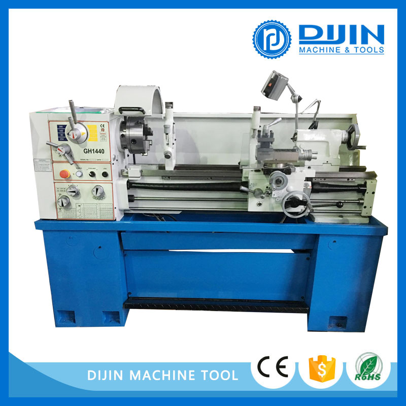 2016 gap bed lathe gh1440 with double speed motor for sales