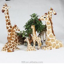 deer family figurine christmas giraffe yard decorations deer family decor