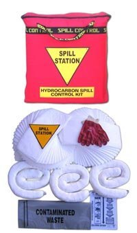 50 Litre Oil/Fuel Absorbent Spill Kit