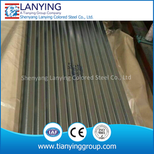 galvanized steel sheet corrugated GI metal roofing designs