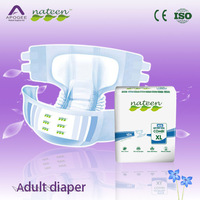 European senior adult plastic-backed diaper