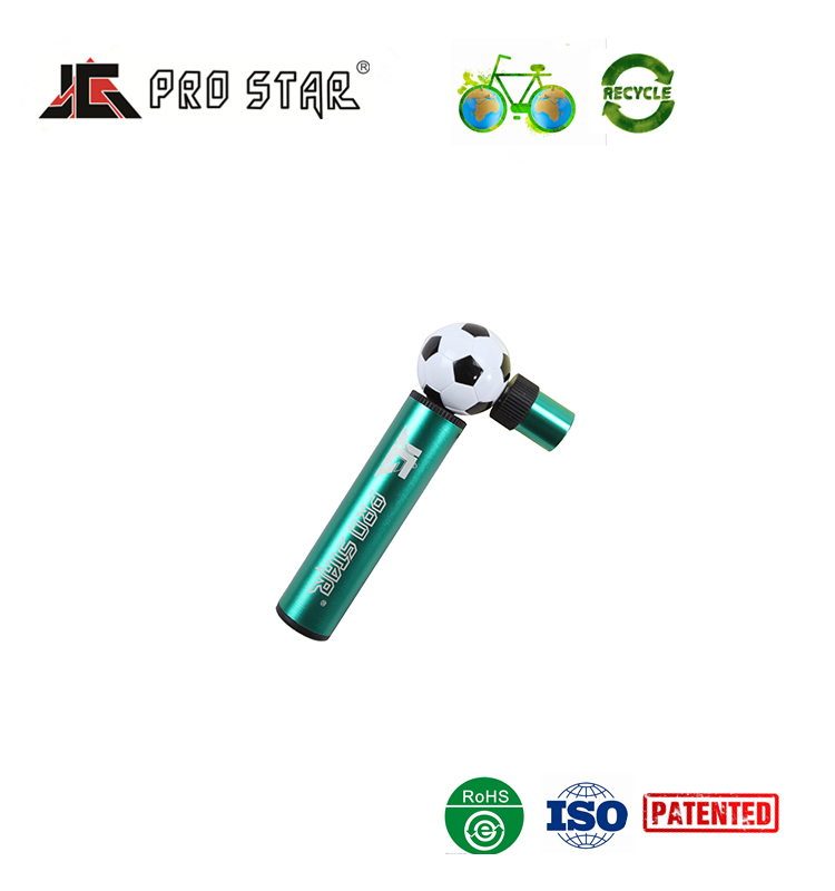 OEM High quality Mini aluminum bicycle tire pump for bike and ball