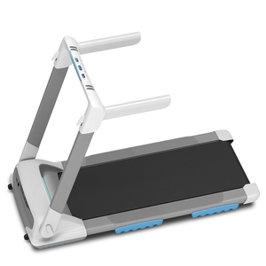 Professional commercial foldable treadmill with LED screen for home