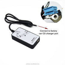 Car digital mp3 CD changer with bluetooth USB SD adapter for VW AUDI OEM radio