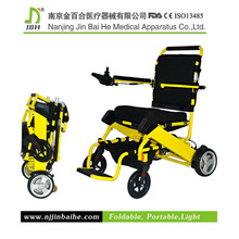 joystick controller foldable electric wheelchair for senior citizen