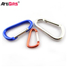 Wholesale Custom Bulk Cheap Mini Aluminium Locking Carabiner Hook
