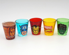 Souvenirs personalized shot glasses