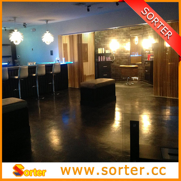 French Designed New Arrival Metal Sequin Fabric Short Curtains