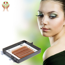 make your own brand brown eyelashes wholesale 3d silk strip false eyelashes packaging in box