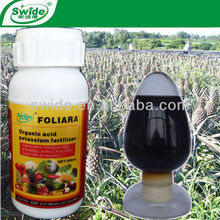 organic acid potassium fertilizer for pineapple