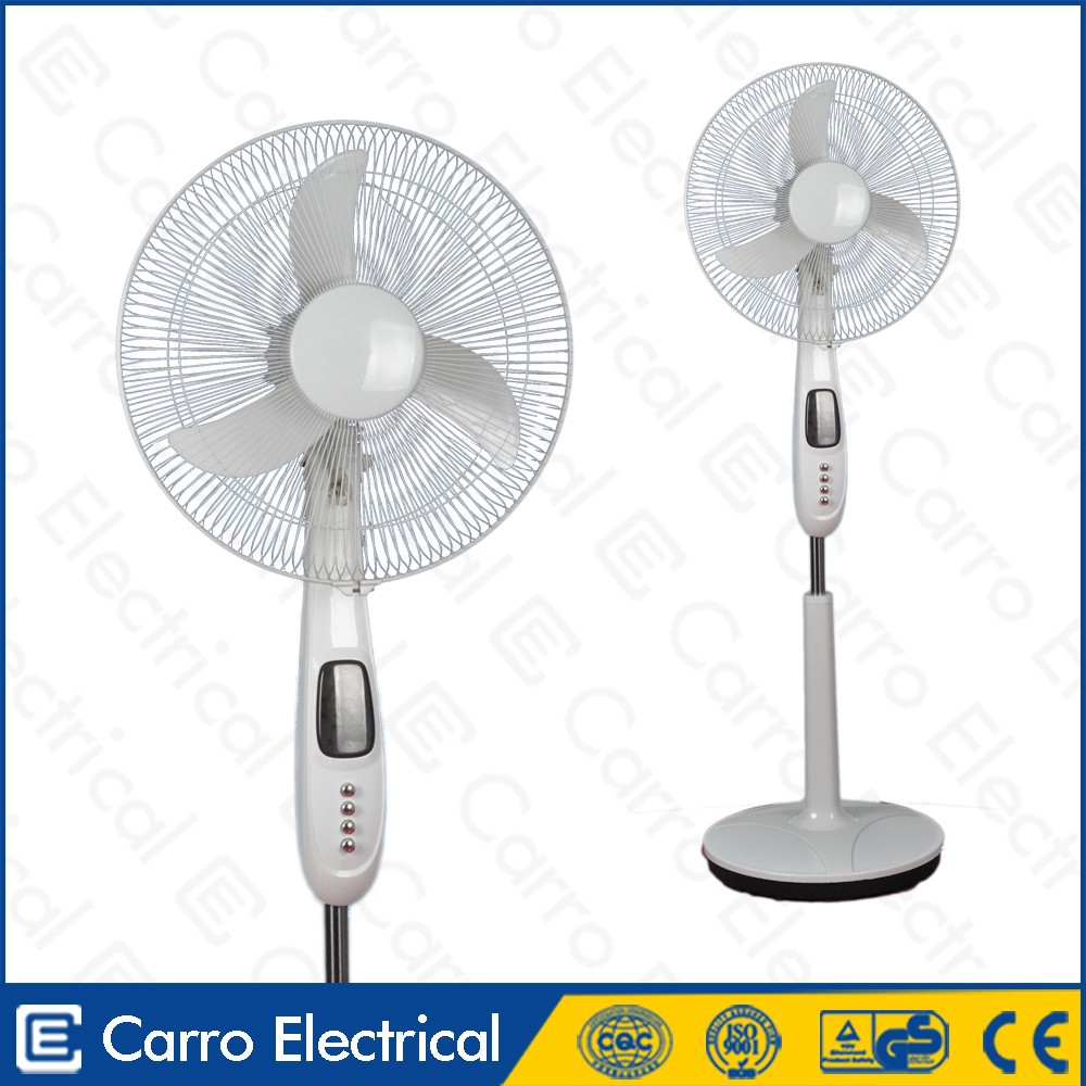 2014 solar energy products dc fan motor 12 inch stand fan
