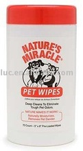 animal skin care wipes