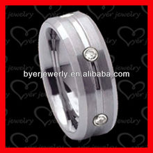 Hot sell fashion tungsten jewelry egyptian wedding rings