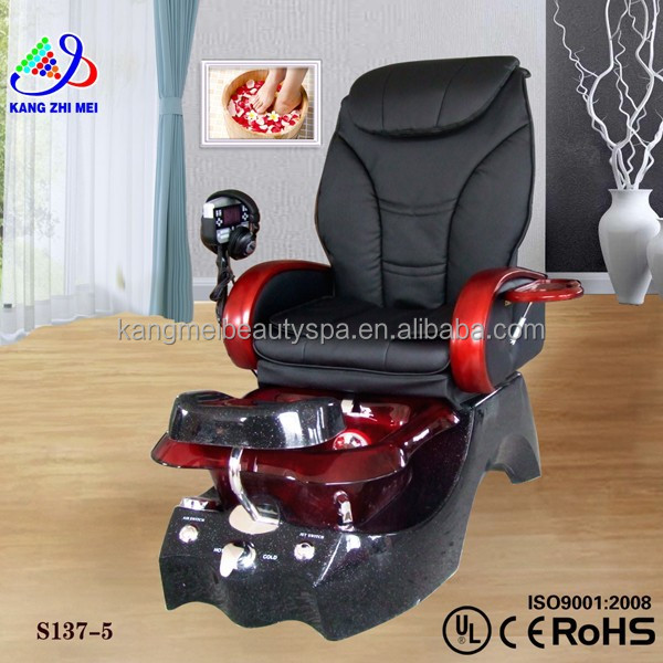 Beauty salon equipment in dubai/shiatsu pedicure manicure spa chair/electric foot massage machine KM-S137-5