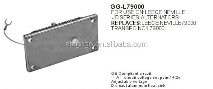 HEAVY DUTY Voltage Regulator for Leece Neville Alternators OEM L79000 102200, 2300J, 2360J, 2500J, 2600J, 2670J, 2700J