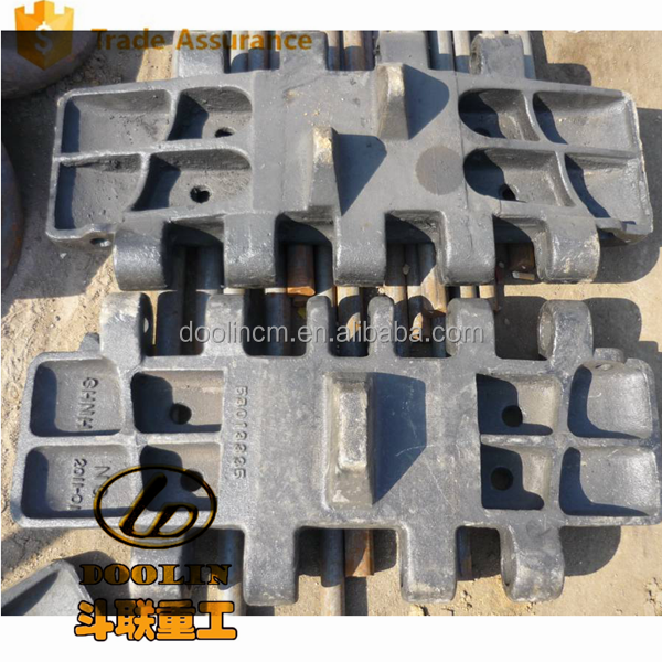 Aftermarket Replacement Part For Nippon DH508 Crawler Crane track shoe