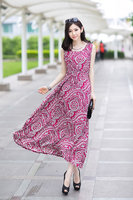 Korea Fashion Dress Red