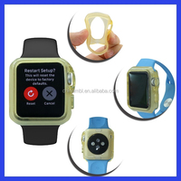 2015 New arrival Solid color soft tpu case for apple watch accessory for apple watch protective case