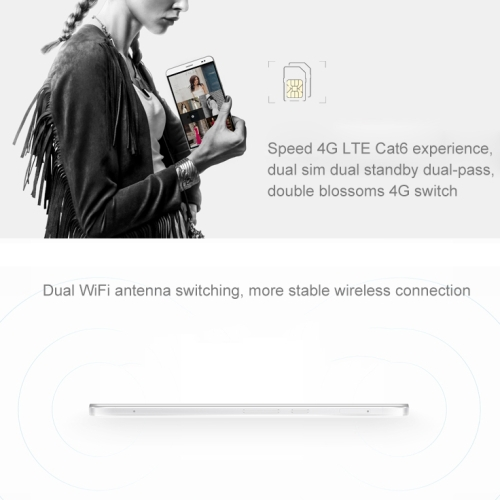 Original Huawei Honor X2 32GB 7.0 inch TFT LTPS Capacitive Screen Android OS 5.0 Phablet Smart Phone, Hisilicon Kirin 930 Octa