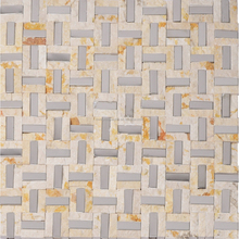 2017 Hot Sale Marble Mosaic Stone Mosaic Tiles for Living Room Flooring