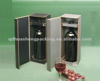 Popular various and excellent rigid best price cardboard wine box