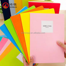 N637-A Usiness for sale notebook with key,notebook with metal decoration,notebook with pen holder